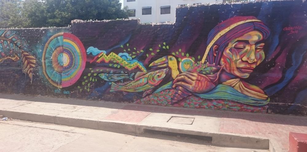 Street Art in Santa Marta