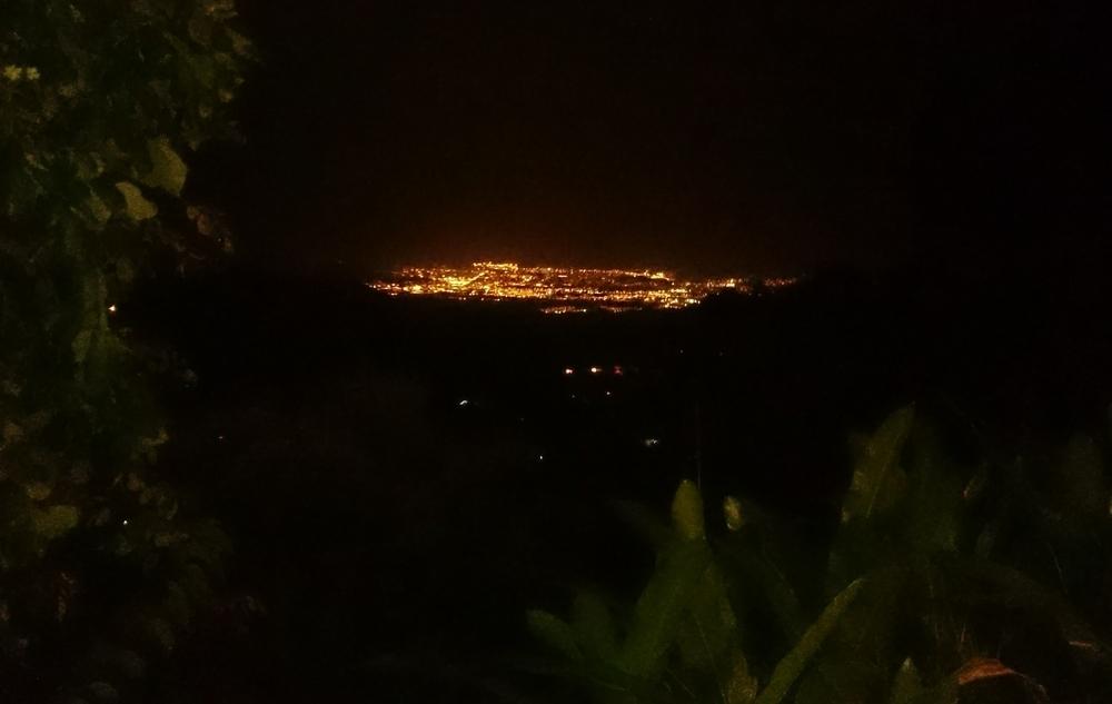 Santa Marta at night