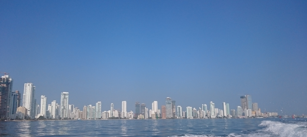Amazing view of the 'Colombian Miami' - Bocagrande
