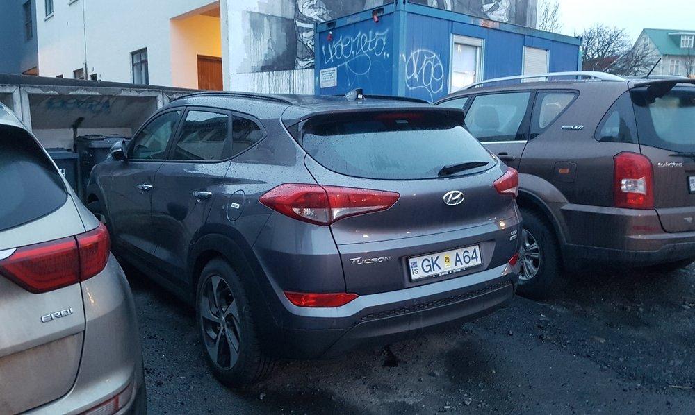 Renting 4x4 in Iceland - Hyundai Tucson