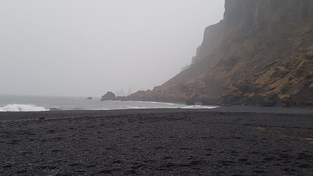 The Black Sand Beach in Vik