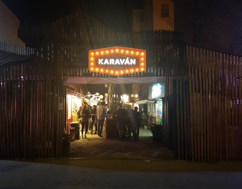 Karavan Budapest Pop up restaurants