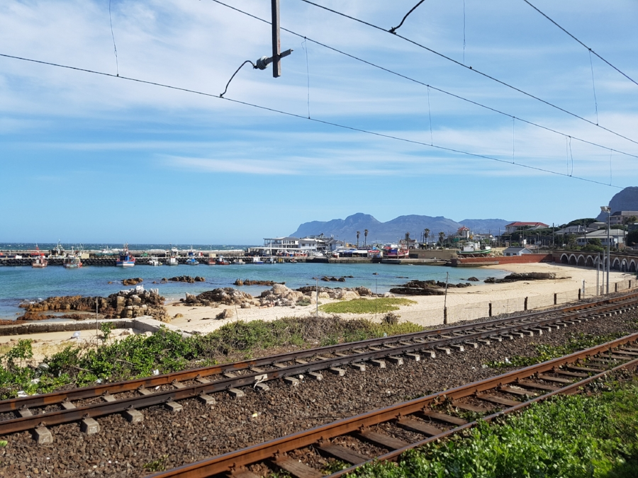 The view of Kalk Bay Harbour from Cape to Cuba