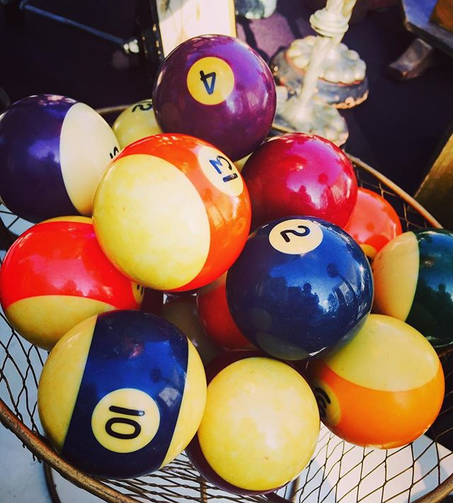#4 #10 #13 #2 #pool #playing #vintage #antique #losangeles #colorful #usa #numbers #hello #hobby