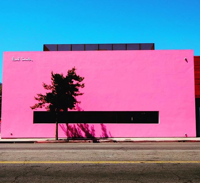 The most pinkish store on earth. #california #sunnyday #hello #pink #losangeles #usa #paulsmith #fasion