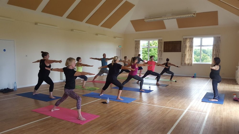yoga fitness retreat sussex