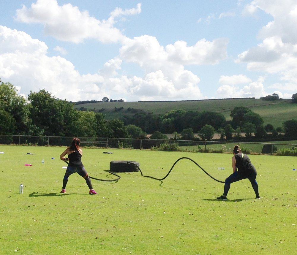 outdoor bootcamp retreat sussex