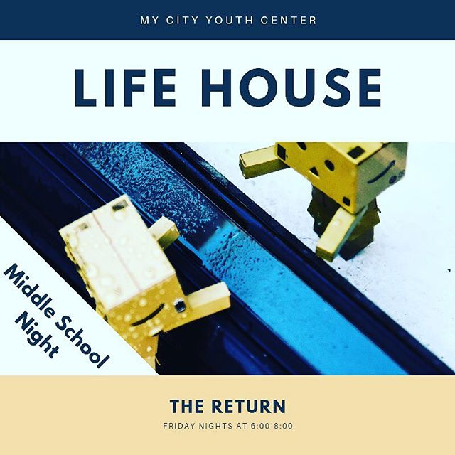 We're rebooting, rebuilding, and bringing new life to Life House. New faces, new activities, and new format. Come in and join us, lets eat, build, grow and laugh together! Bring a friend and be entered into a monthly drawing ✍️ for a prize! Life House is a weekly program for middle-High school aged students from all over the valley. 6pm-8pm every Friday at My City Youth Center, 145 N Tahquitz Ave. In Hemet. Call (951)652-0647 for details. See you soon!!!