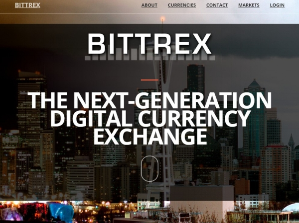 Bittrex.com is a popular site used for trading cryptocurrency.