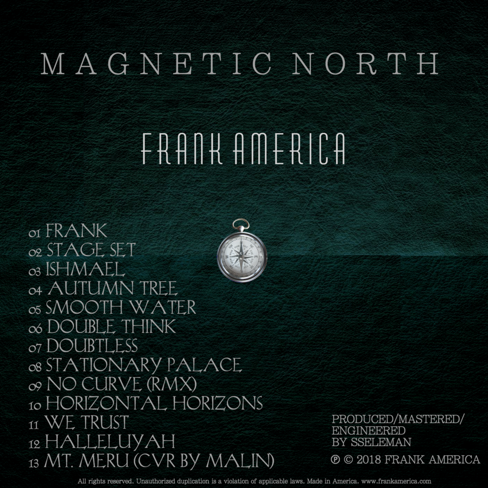 Magnetic North Album Cover (Back)
