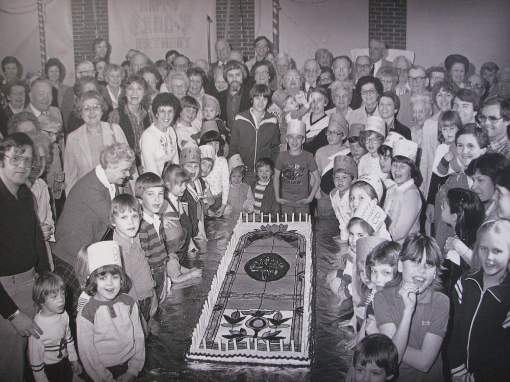 CUMC Centennial Celebration in 1981.