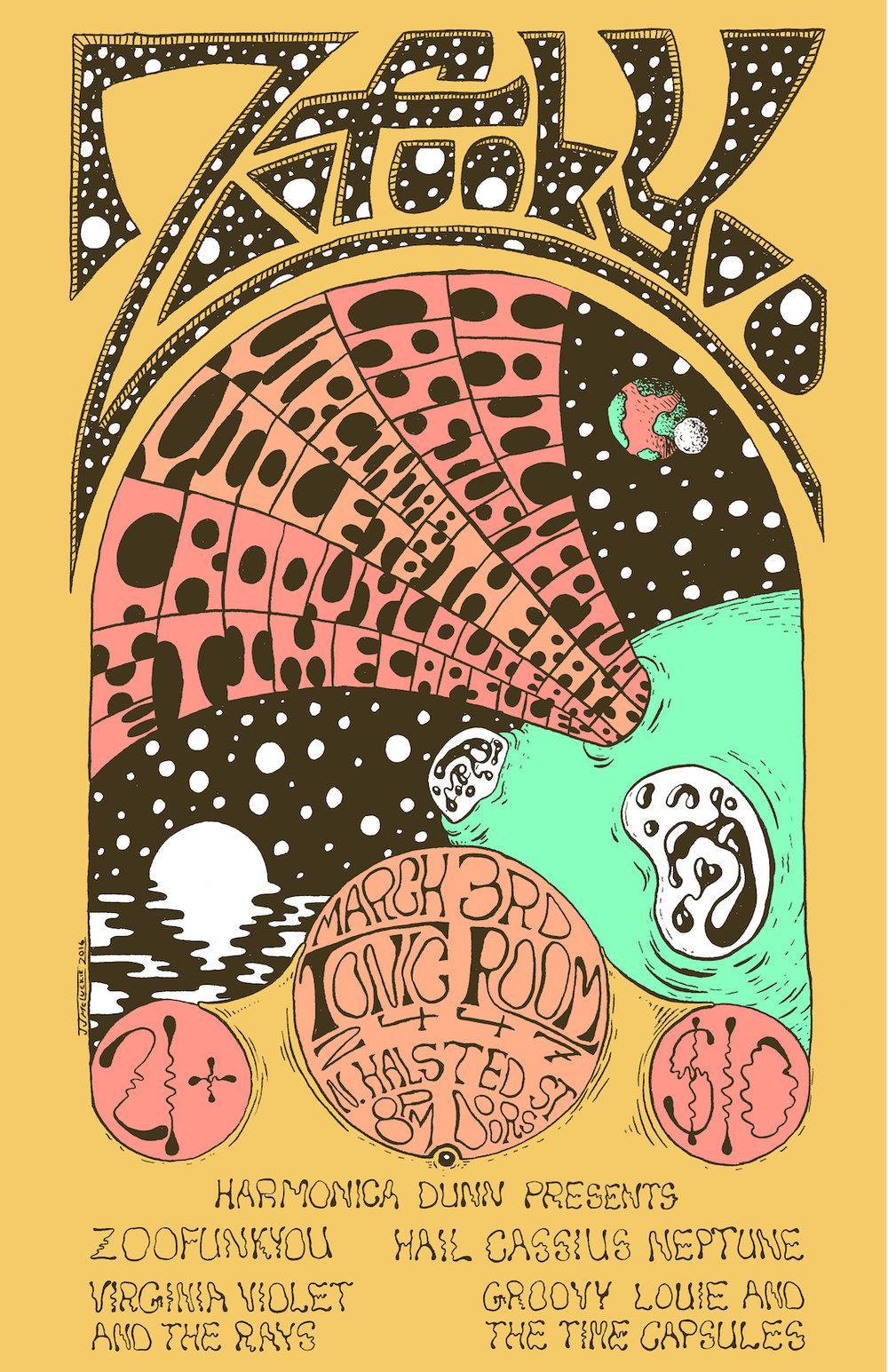 Zoofunkyou Tonic Room Poster