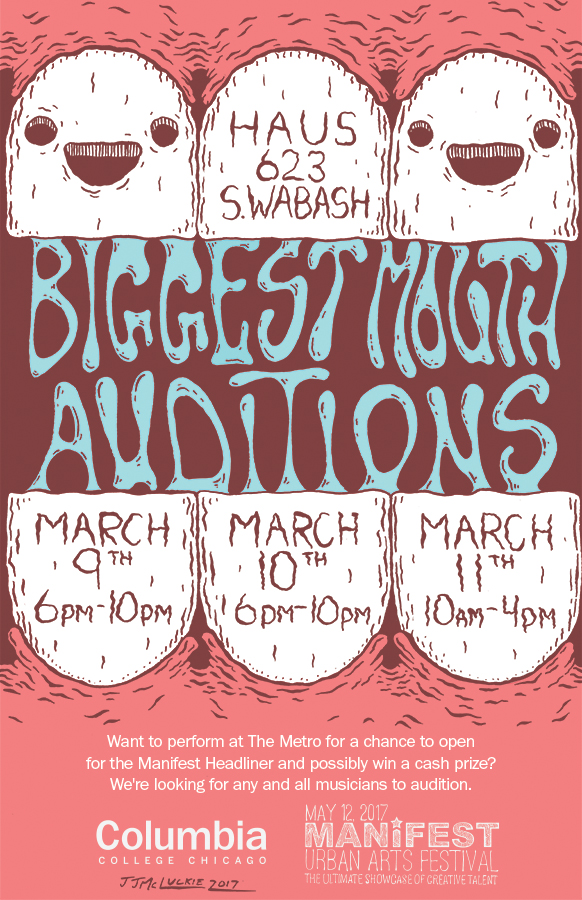 Biggest Mouth Auditions Poster