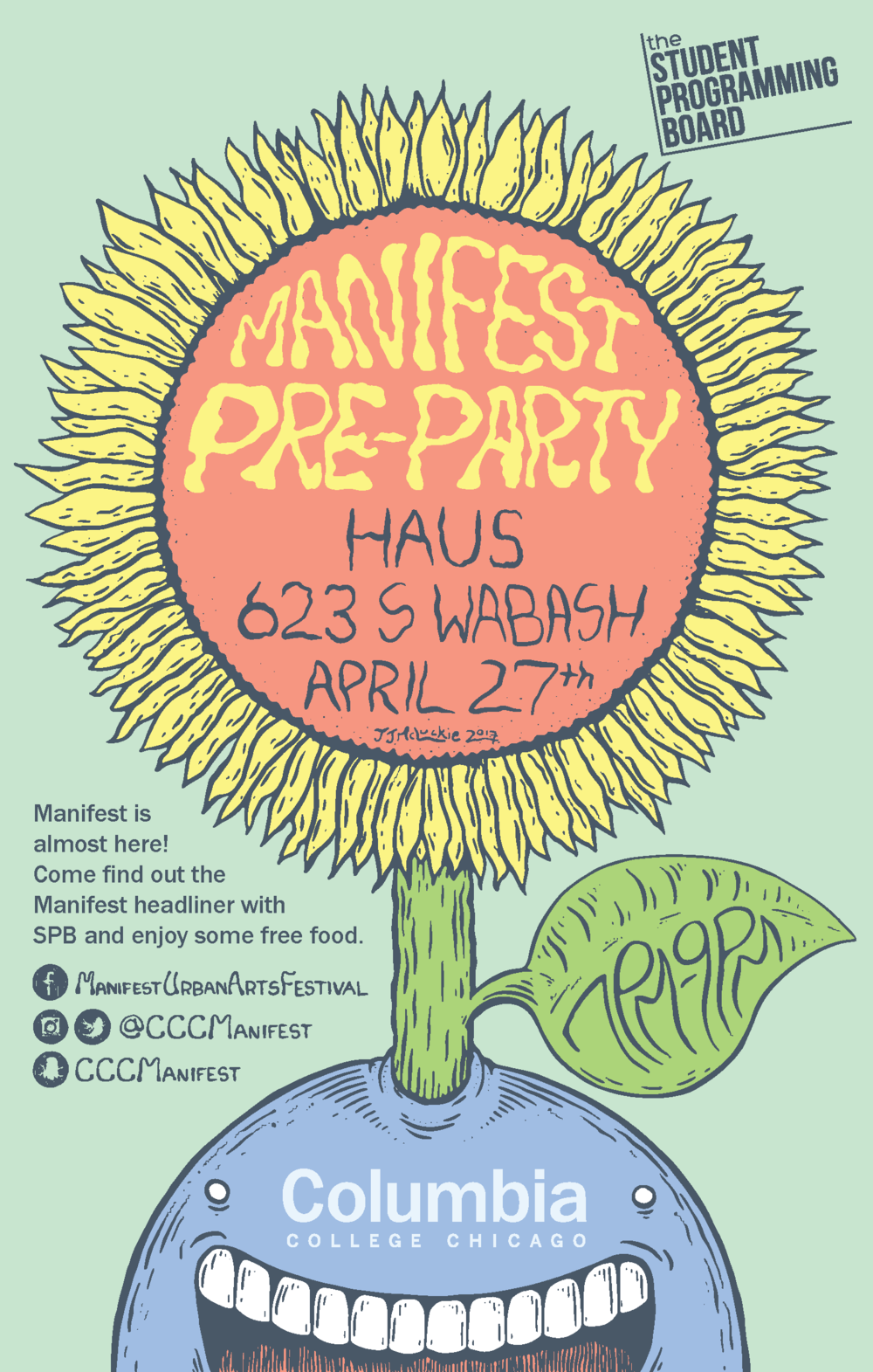 Pre-Party Poster