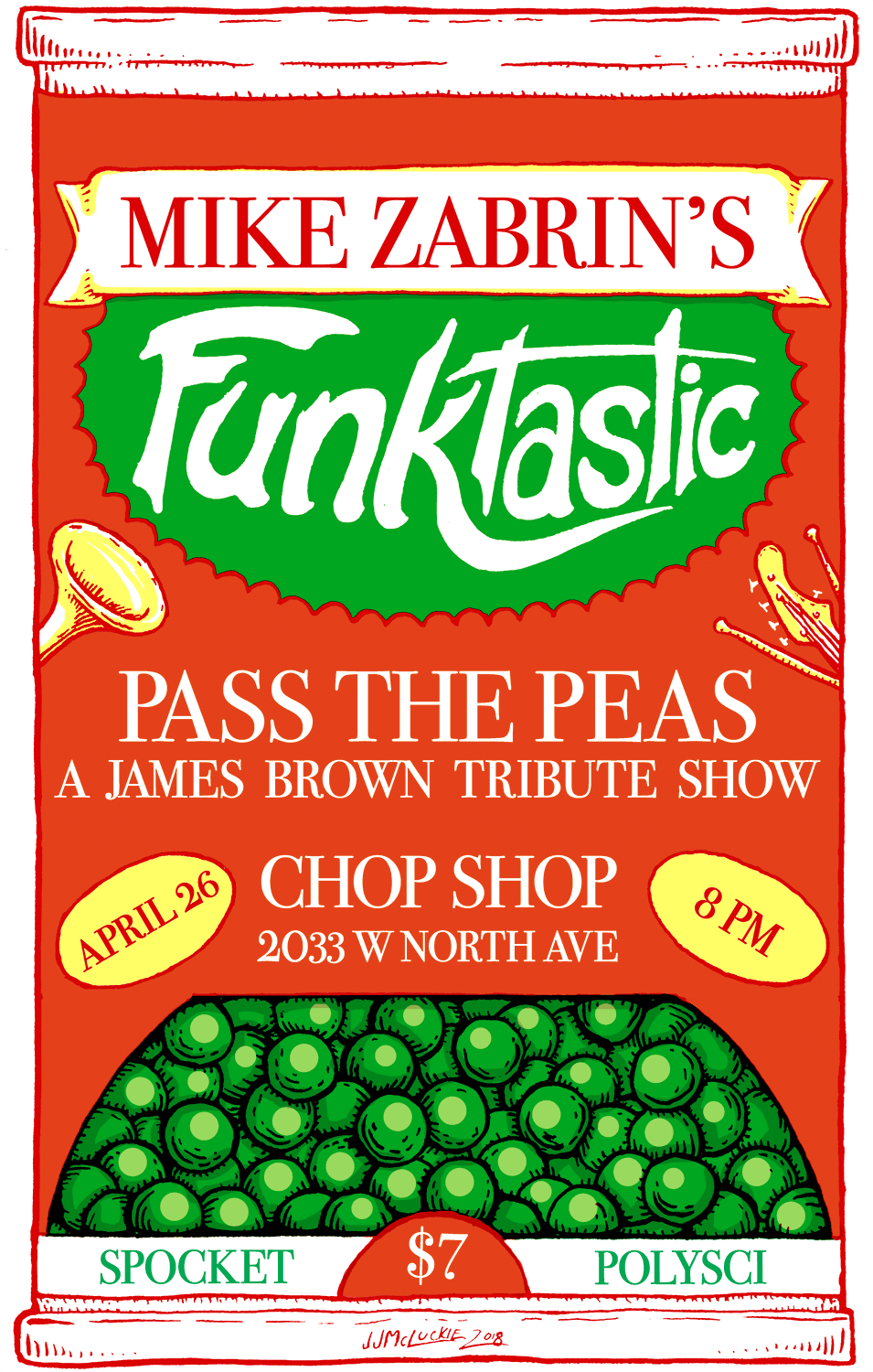 Mike Zabrin's Funktastic Poster