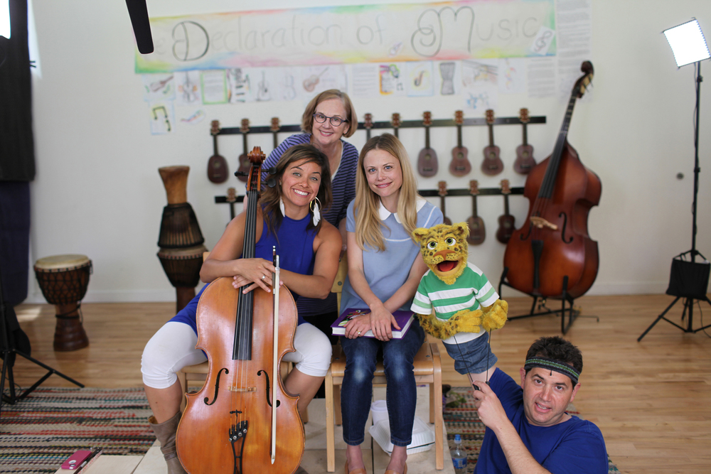 Symphony Storytime is a children's program created by Claire Coffee and the Oregon Symphony. The beautiful music played by Cellist Marylin De Oliveira and the timeless wonder of a Grimm Fairytale, make Symphony Storytime a delight for all ages.