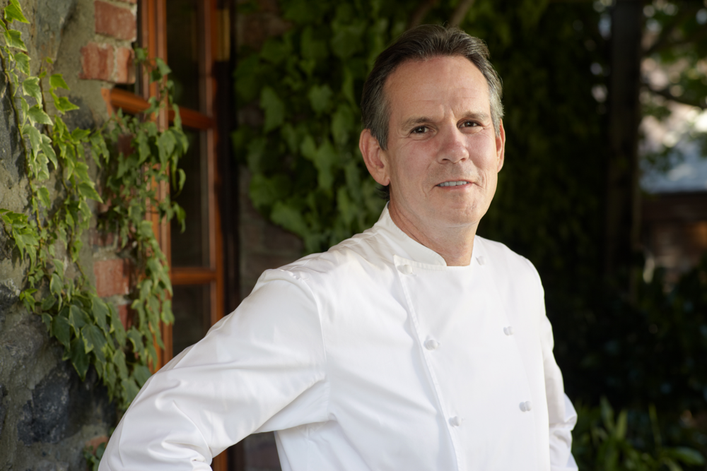 Thomas Keller  of The French Laundry, Bouchon, and Per Se.