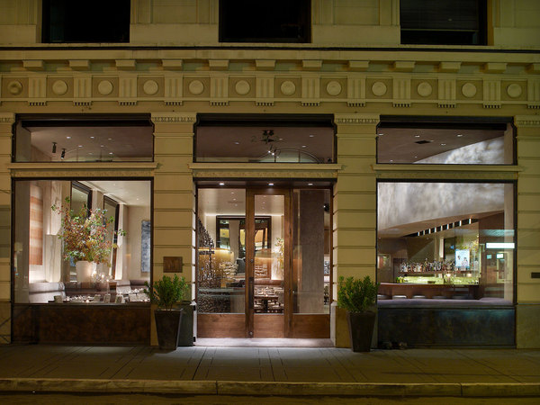 San Francisco's famous michelin star Restaurant, Michael Mina, now features three Collier Falls wines on their wine list - Cabernet Sauvignon, Primitivo, and Petite Sirah.
