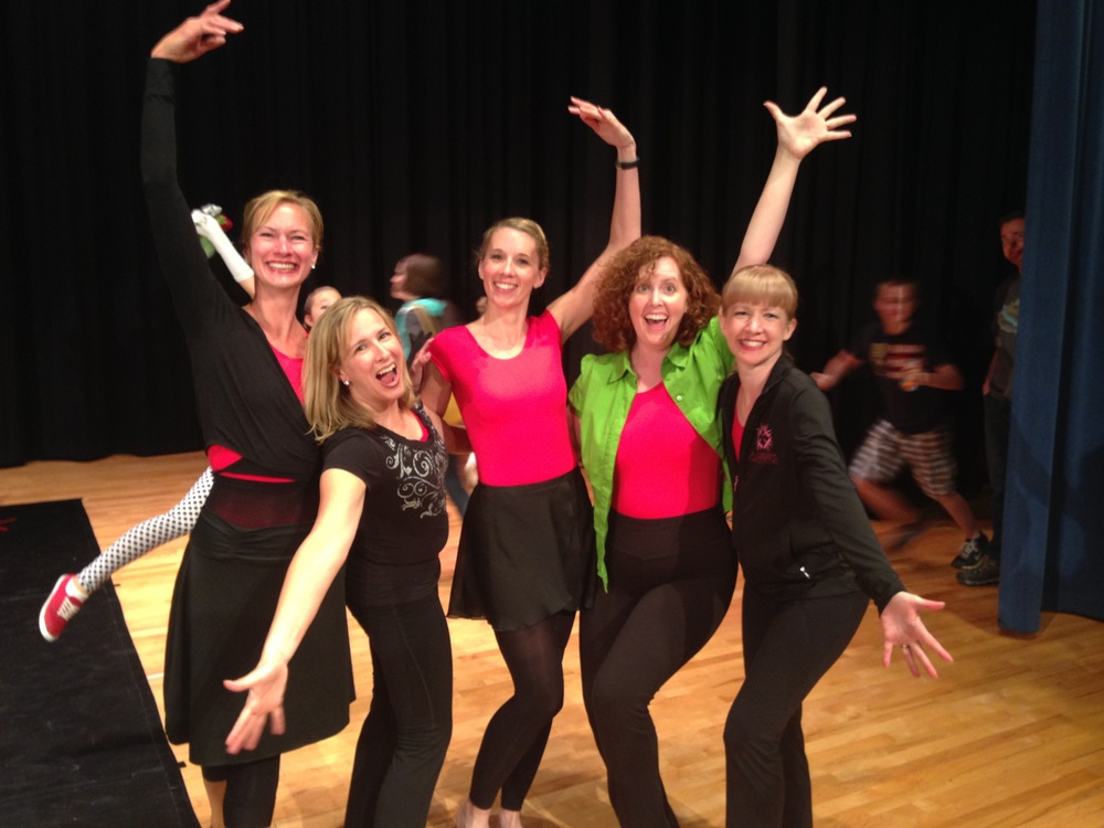KDS INSTRUCTORS ON RECITAL NIGHT