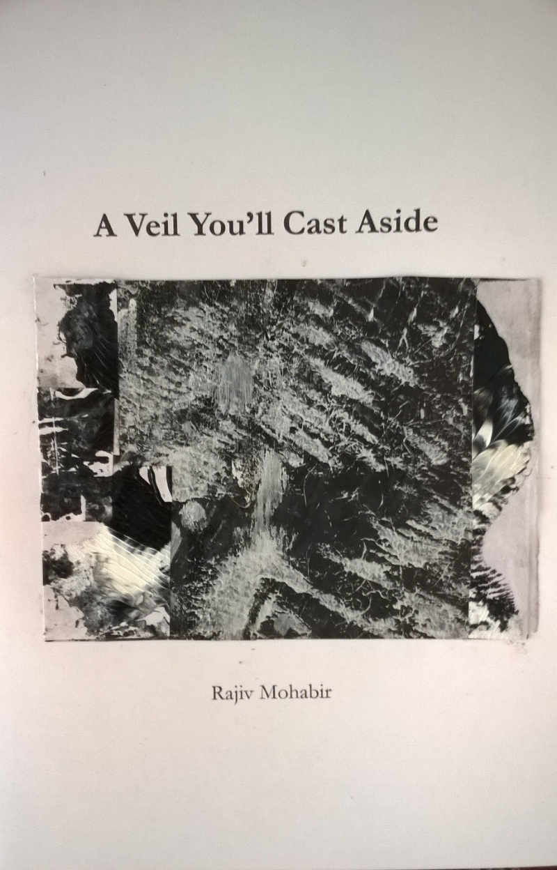 A Veil You'll Cast Aside,  Anew Print, 2014  A collection of translations from a single Indo-Caribbean Kabira folk song, reimagined into poetry, woven in and out of three languages. An experiment in language and translation, Mohabir merges the Imaginaries of three distinct worldviews into one poetic.