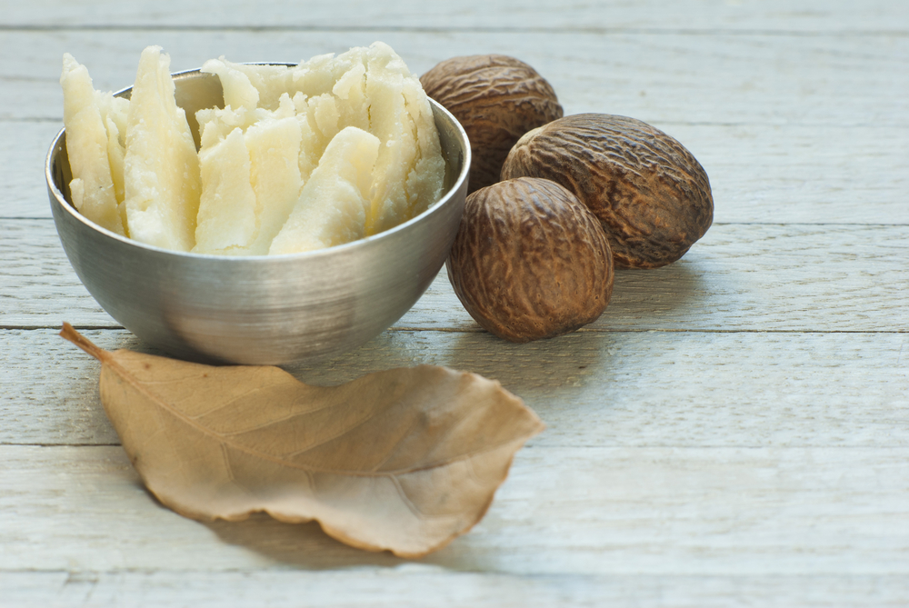 shea butter - Not only does shea butter soften your lips, this natural emollient helps your lips retain elasticity and can even boost collagen production--resulting in a fuller, softer smile.