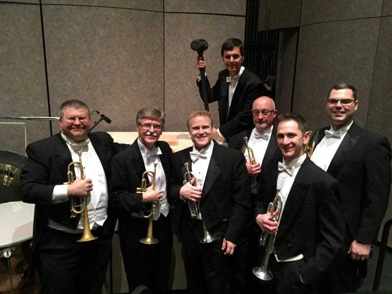 Tulsa Symphony Orchestra Trumpet Section