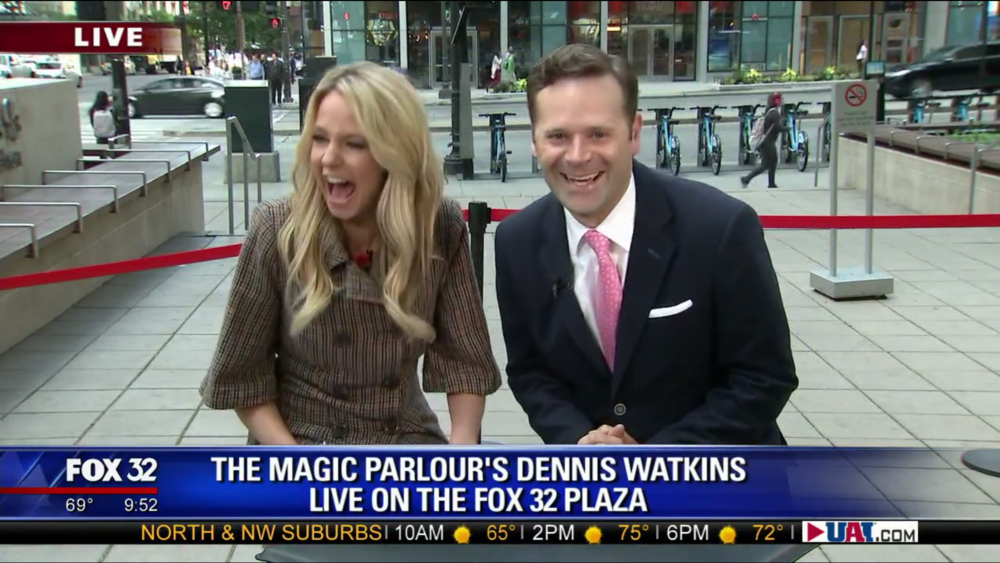 Click to watch The Magic Parlour on Good Day Chicago