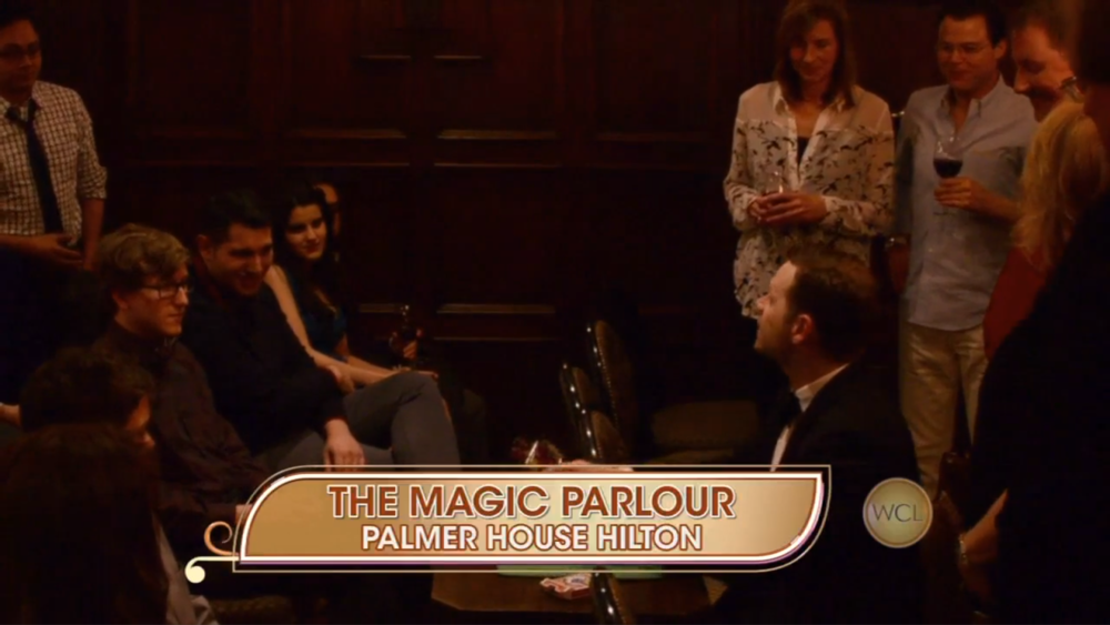 Click the image to see The Magic Parlour on Windy City Live