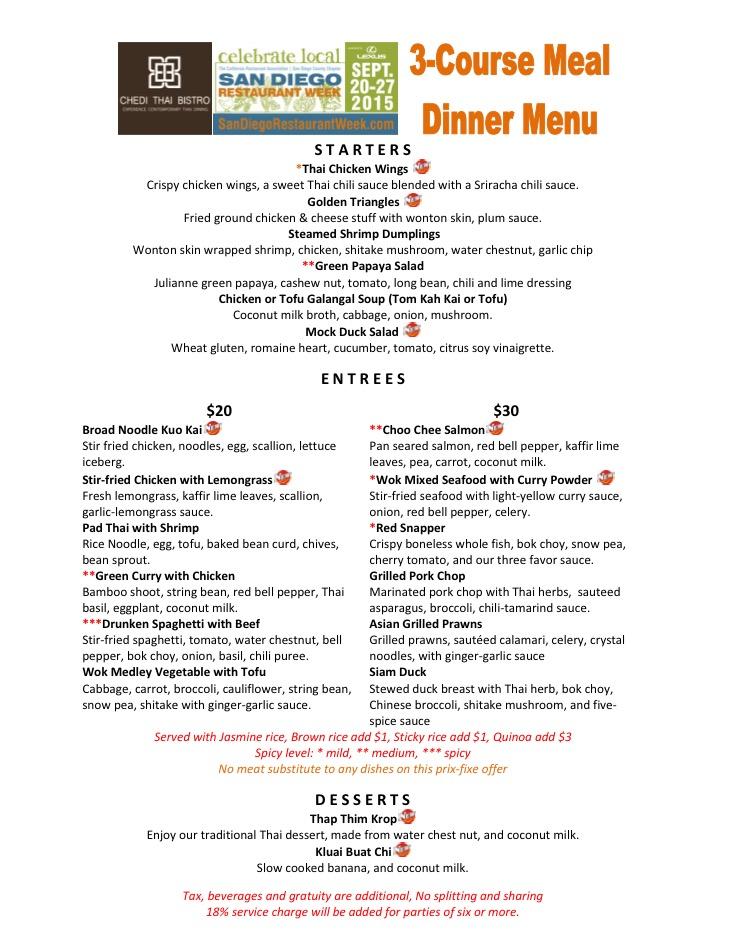 Dinner SDRW 09-2015