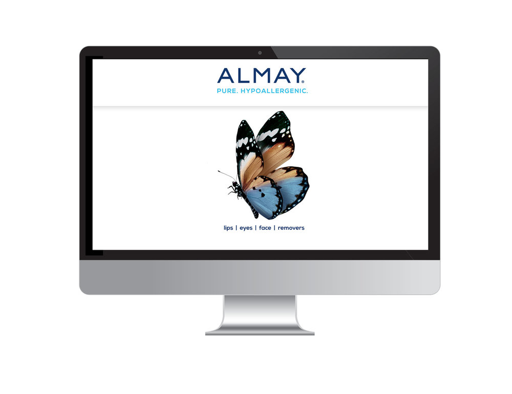 Home Page, Almay Canada