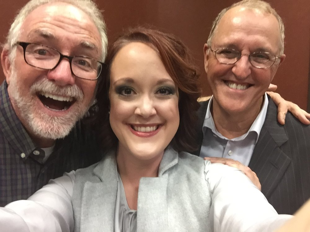 Me with Bob Goff (NYT Bestselling Author of Love Does) and Flip Flippen (NYT Bestselling Author of The Flip Side) at TTLM's 2015 Hope Event.