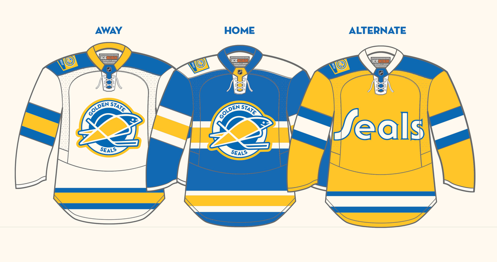 Concept 50 Years Of Seals Hockey Matthew Henderson Design