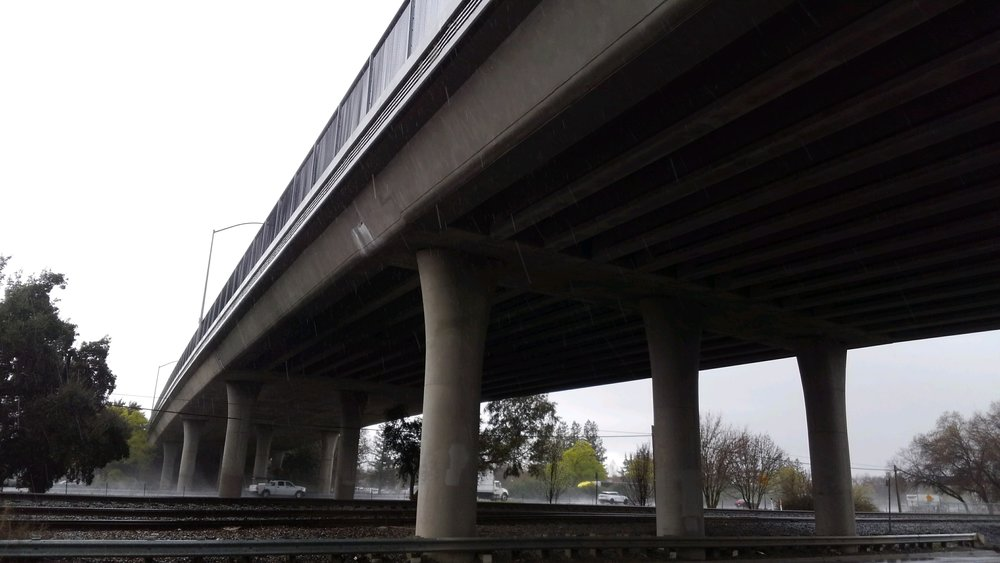 This is a freeway overpass