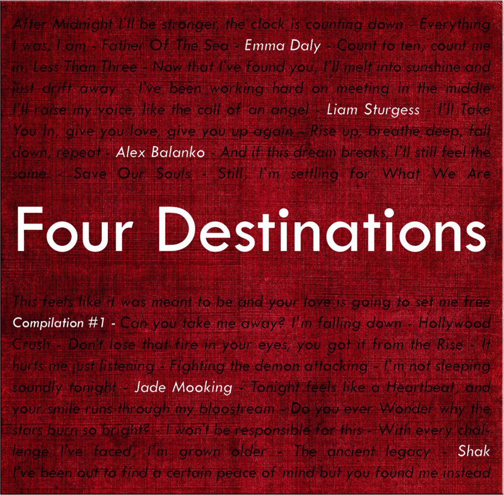 """Four Destinations"" by Various Artists - July 2014"