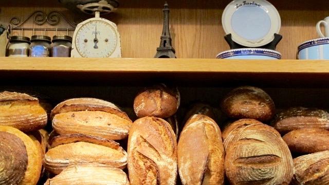 A few of La Farine's breads