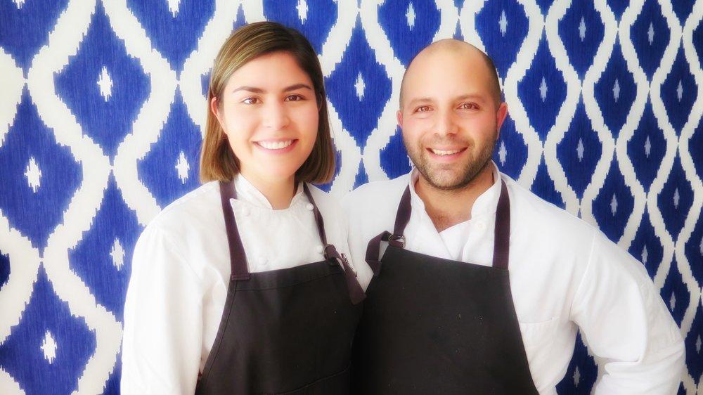 Chefs Laura Millan and Sayat Ozyilmaz of Istanbul Modern SF