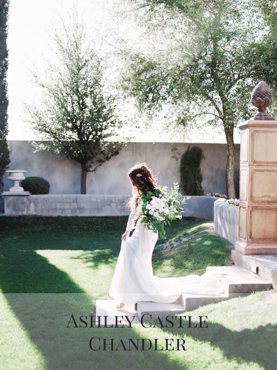 Peaches & Twine Photography Fine Art Film Wedding Destination Photographers Ashley Castle Chandler Arizona Phoenix Wedding Photographers Bridal Session