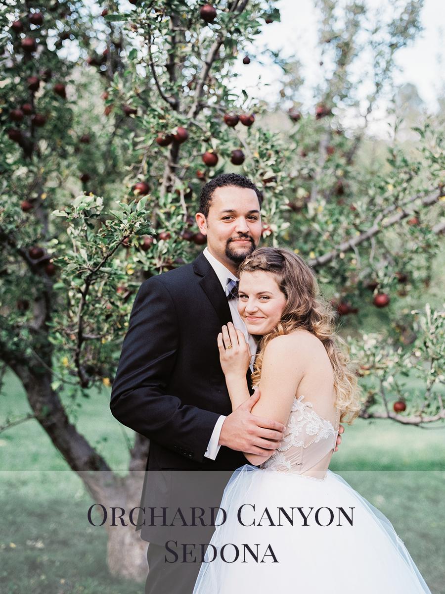 Peaches & Twine Photography Fine Art Film Wedding Destination Photographers Sedona Orchard Canyon Wedding Photographers Phoenix Arizona