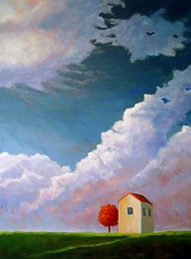 Before the Storm,  2006 Acrylic on canvas 48 x 36 inches