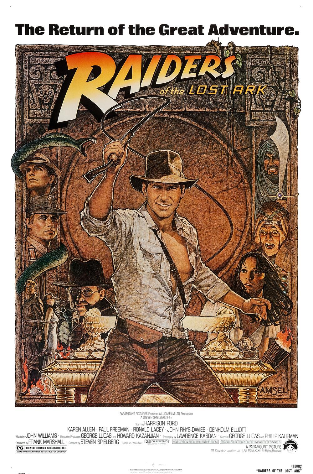 #1 Os Salteadores da Arca Perdida (1981)