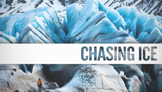 Chasing Ice - Glaciers are receding at an alarming rate not previously seen due to atmospheric and oceanic warming. In Chasing Ice, James Balog, an award-winning nature photographer and geomorphologist, sets out to combine his love of nature and photography and capture the visual evidence that glaciers are disappearing rapidly by photographing 22 different sites in Iceland, Alaska, and Greenland over a period of 5 years using video and time-lapse photography.