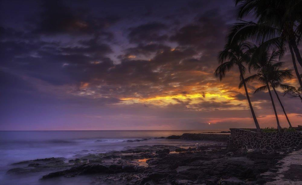 Kona Sunset, Kona Hawaii