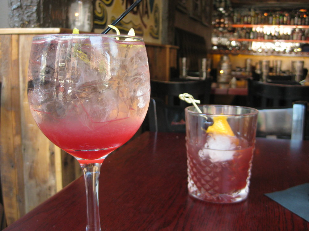 Sangria // Old Fashioned