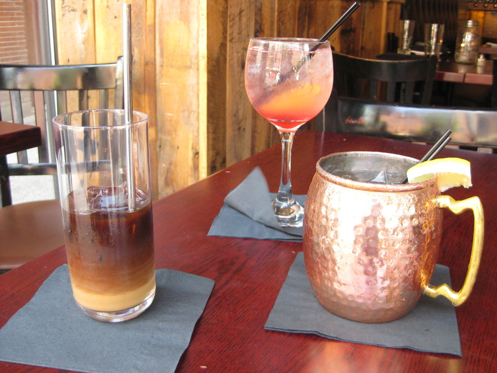 Viet-Style Cold Brew (left)