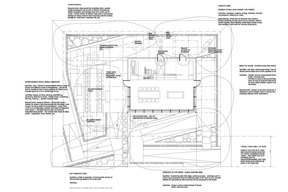 North House Site Plan