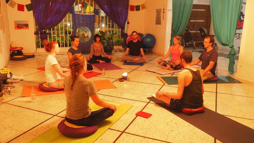 Yoga Internship Program, Medellín, Colombia, South America - teach and work in a yoga studio - new yoga teachers