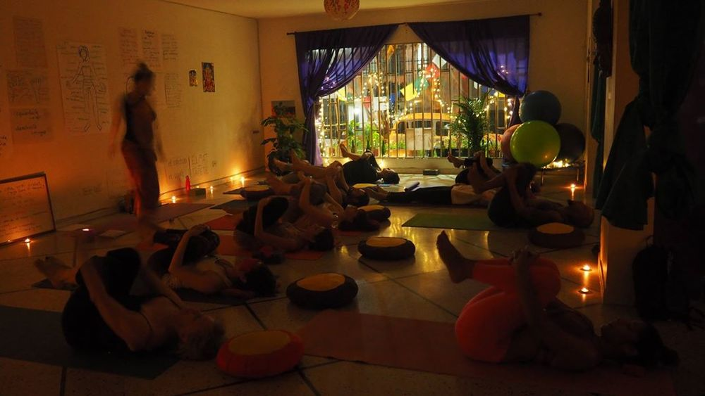 Yoga Internship Program, Medellín, Colombia, South America - teach and work in a yoga studio - photos February 1