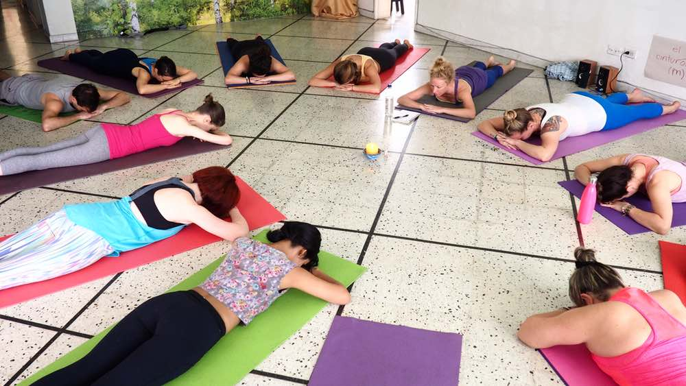 Yoga Internship Program, Medellín, Colombia, South America - teach and work in a yoga studio - photos February 11