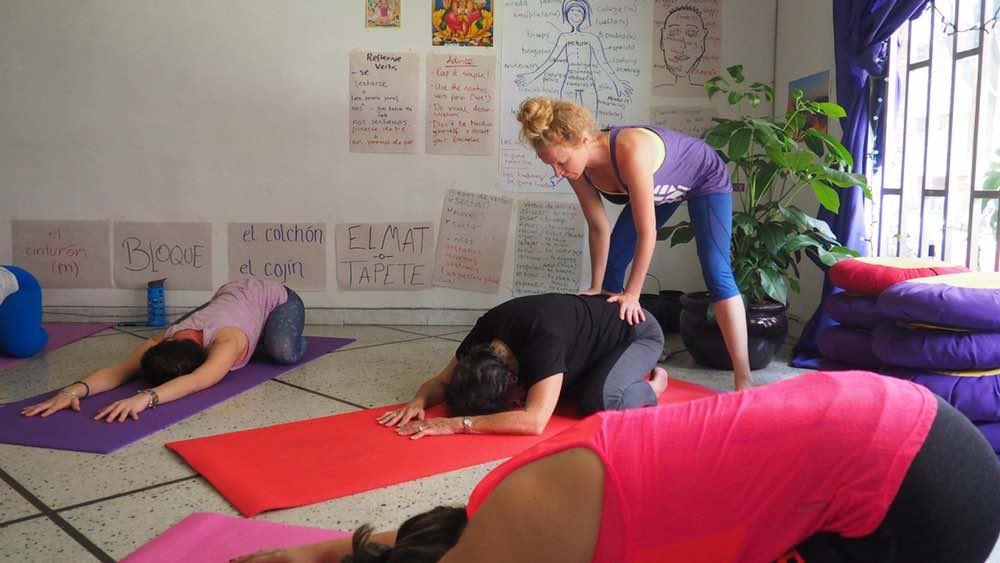 Yoga Internship Program, Medellín, Colombia, South America - teach and work in a yoga studio - photos February 12