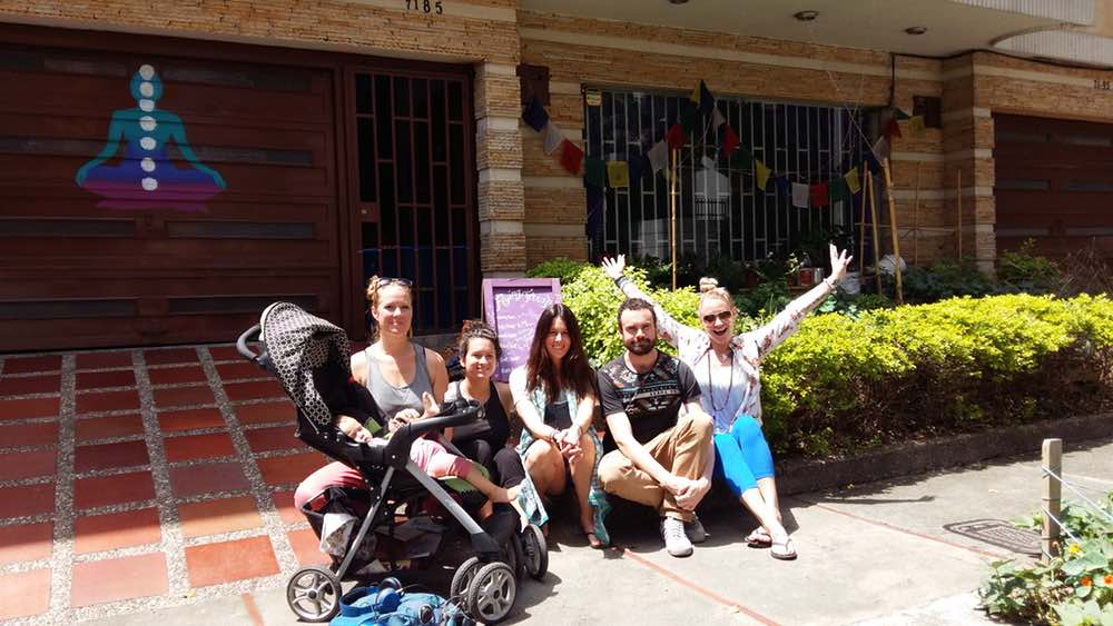Yoga Internship Program, Medellín, Colombia, South America - teach and work in a yoga studio - photos February 15